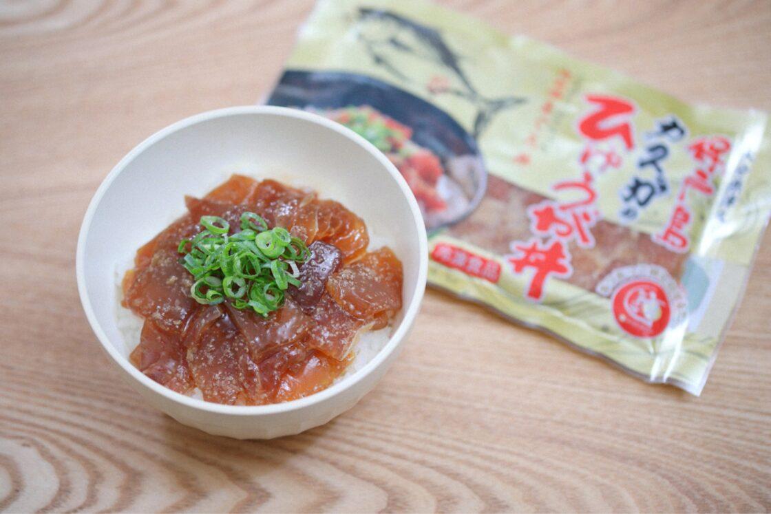 甘いタレの「ひゅうが丼」は郷土料理に成長
