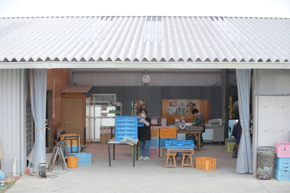 「高齢化する生産者のため、我々が生椎茸の販売まで行おう」というのが事業の始まり