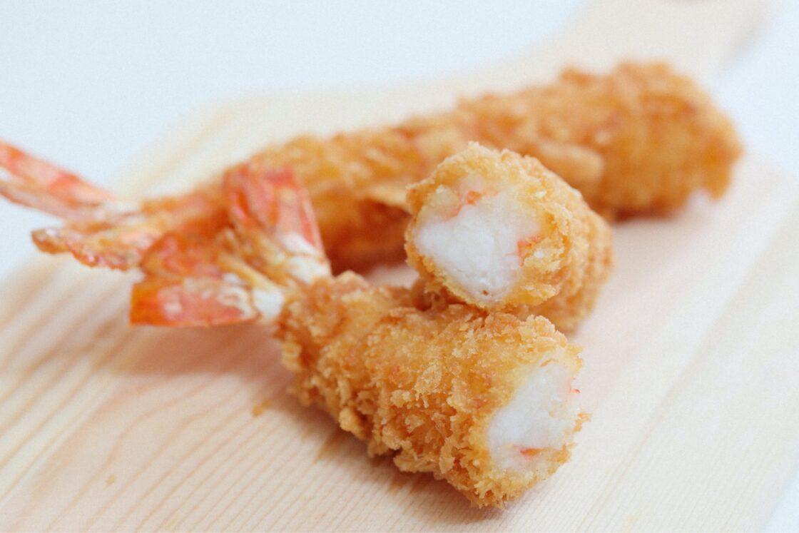 大関食品のえびは伸ばしていないため、肉厚でコリコリとした噛み応えのある食感が新鮮