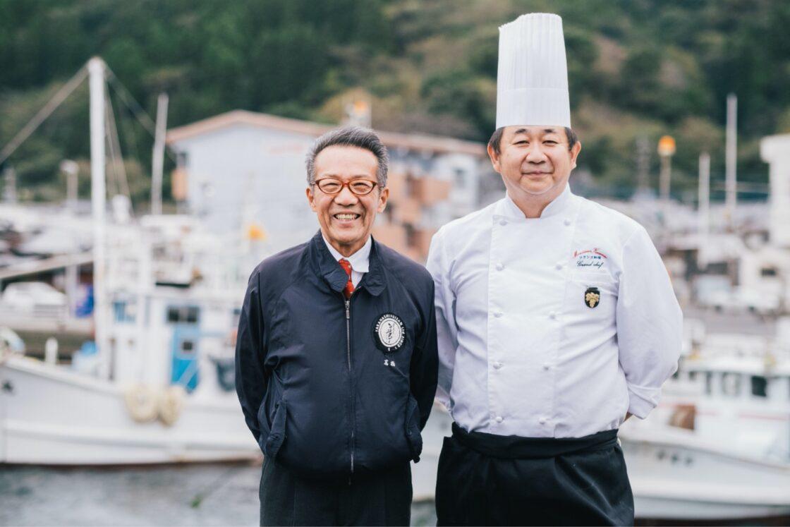 料理人と協力し、佐伯市や業界の活性化に努めている