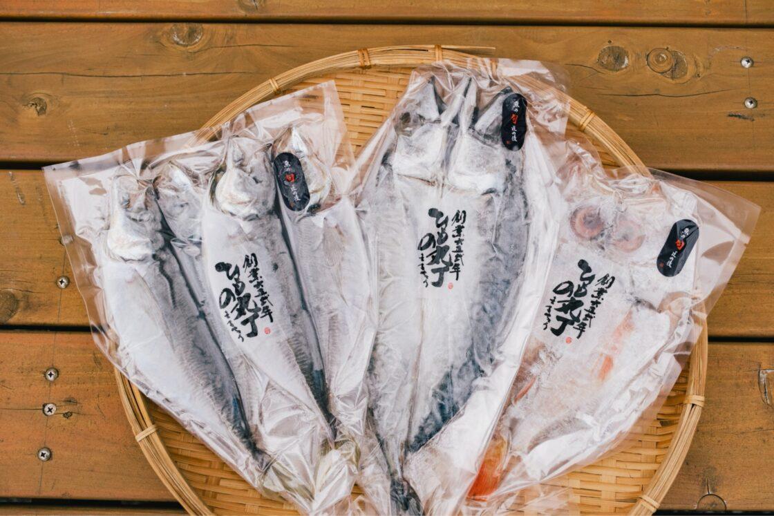 新鮮な魚を使った自社製品を多数展開