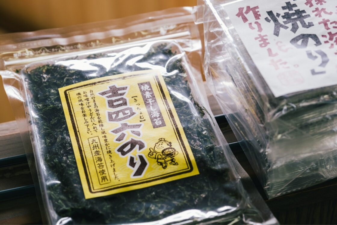 鶴亀フーズを代表する商品『吉四六のり』