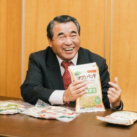 代表取締役社長 岩井正久さん
