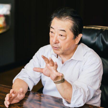 代表取締役社長 中塚茂次さん