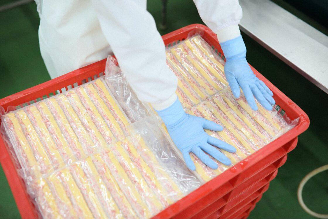 冷凍の巻き寿司用芯