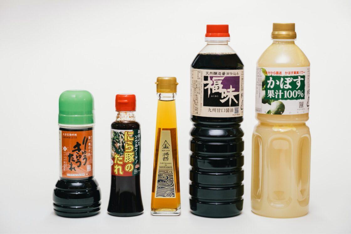 取り扱い商品のジャンルは醤油・味噌・酢・ソース類・ジャム類・飲料類(外注含む)と多様化