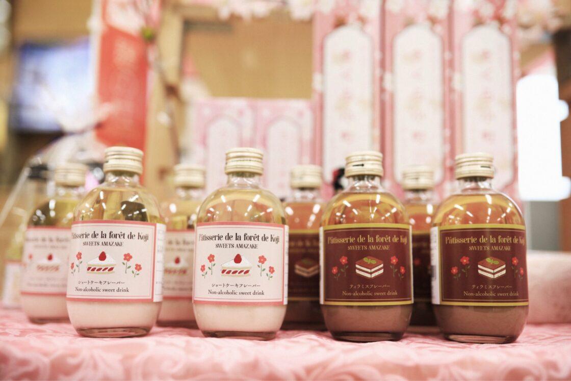 スイーツ甘酒の新商品「ティラミス」と「ショートケーキ」
