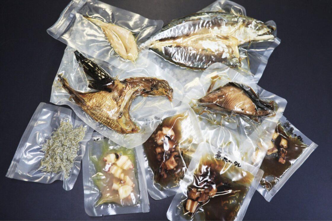 魚を捌いたり、切り身にしたりする手間だけでなく、匂いが出やすい調理まで済ませ、常温でそのまま保存できるレトルト焼き魚の商品開発をすすめている