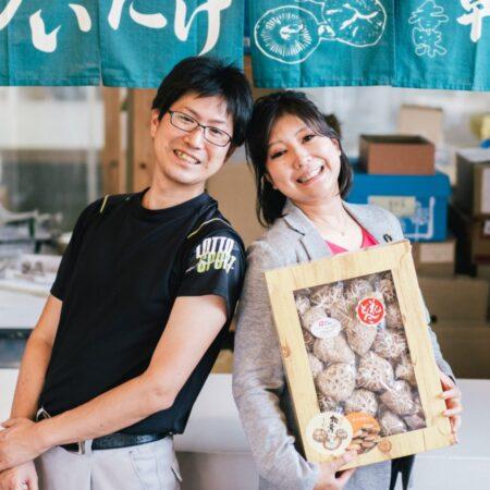 営業課長 吉本拓磨さん(写真左)、広報 福田英里香さん(写真右)