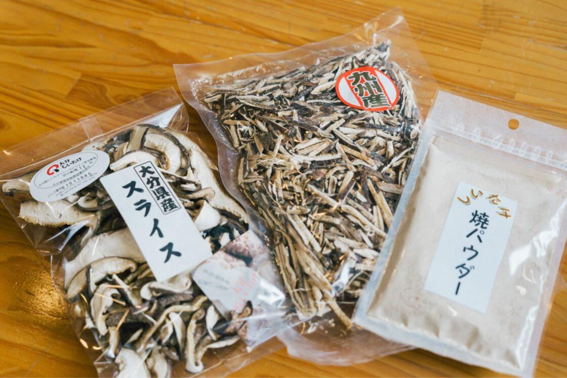 近年売り上げを伸ばしている『乾椎茸パウダー』